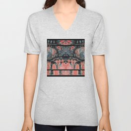 In a Weird Place. Unisex V-Neck