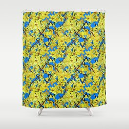 Springtime for Isabella Shower Curtain