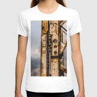 industrial T-shirts featuring Industrial landscape by vientocuatro
