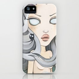 Hollow Goth painting, Pop Surrealism iPhone Case