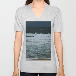 Waves Unisex V-Neck