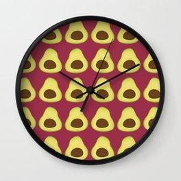 Pattern #8: Avocado Wall Clock