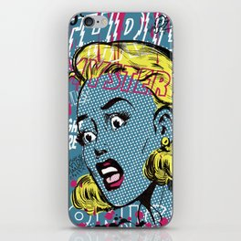 THRILLING MYSTERY iPhone Skin