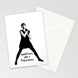Karen O Yeah Yeah Yeahs  Stationery Cards