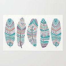 Feathers of Nature Rug