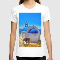 greece T-shirts featuring Mykonos, Greece by 33bc