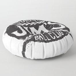 Classic Jim's Ball Club - Tshirt Floor Pillow