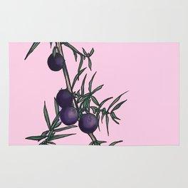 juniper in pink Rug