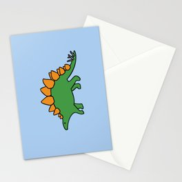 Cute Stegosaurus Stationery Cards