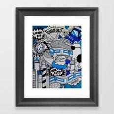 Livin' For The City Framed Art Print