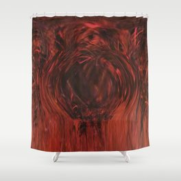 Pit of Fire Shower Curtain