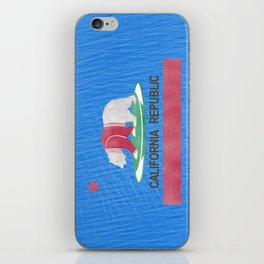 Polar Bear In California iPhone Skin