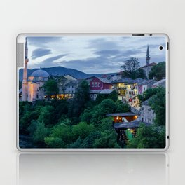 Evening Mostar city  Laptop & iPad Skin