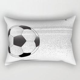 Moving Football Rectangular Pillow