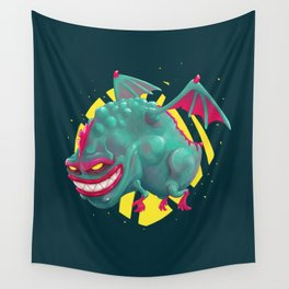 Kandy the Toxic Dragon Wall Tapestry