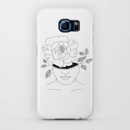 a girl who blooms from within iPhone Case