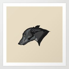 Grey Judith Art Print
