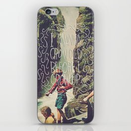 All Die Young iPhone Skin