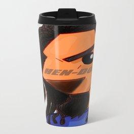 Hen-Dog #001_ Blue Redesign Travel Mug