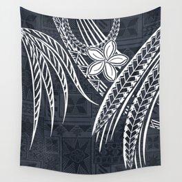 Hawaiian - Samoan - Polynesian Old Tribal Wall Tapestry