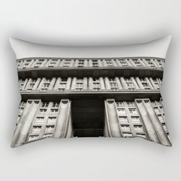Facade of a monumental residential building I Rectangular Pillow