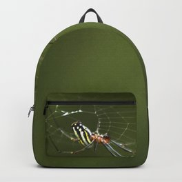 Spider Web in the forest Wildlife Backpack