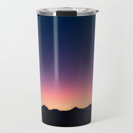 Purple Mountain Aura Travel Mug