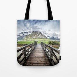 Hallstatt lake Tote Bag