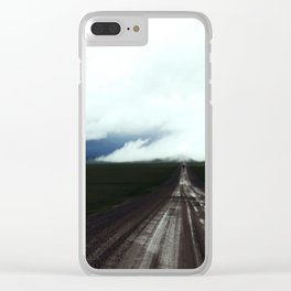 Wide Open North Clear iPhone Case