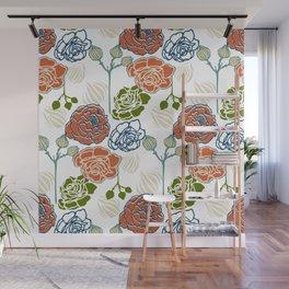 Gardenia Light Wall Mural