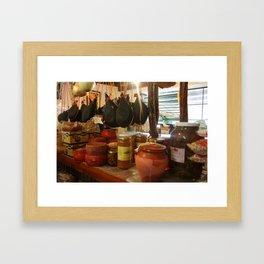 Spanish Market Framed Art Print