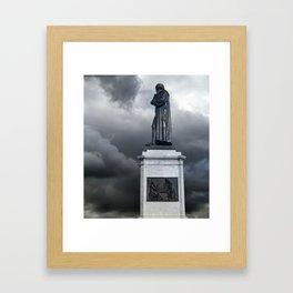 Johannes Gutenberg memorial, Mainz, Germany Framed Art Print