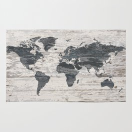 World map 2 Rug
