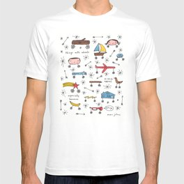 things with wheels T-shirt