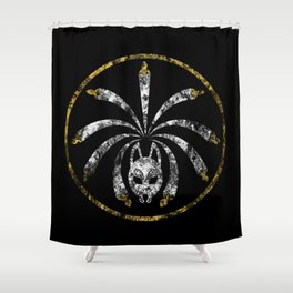 Kitsune Seal Shower Curtain