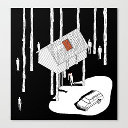 Hereditary by Ari Aster and A24 Studios Canvas Print