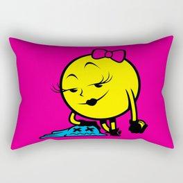 Ms. Pac-Man Rectangular Pillow