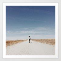 kansas Art Prints featuring Kansas by Nicole Mason