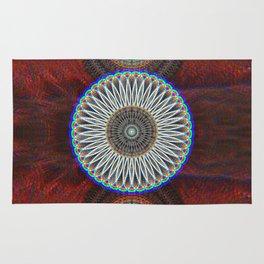 Three Mandalas Rug