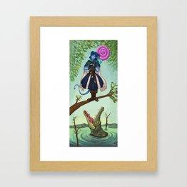 Haunted Nein 1 Framed Art Print