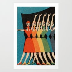 MBC: The Chorus Line 2 Art Print