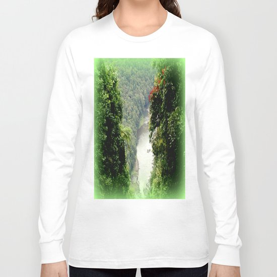 Crawford's Lookout - Cairns Hinterland Long Sleeve T-shirt