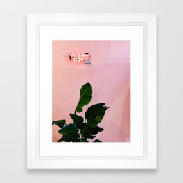 You Glow Girl Framed Art Print
