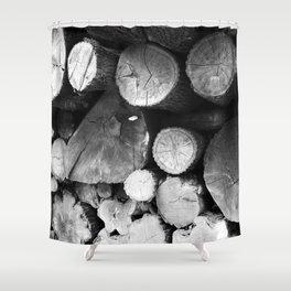 Lumber Shower Curtain