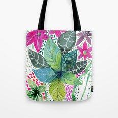 Leafy Tropical Tote Bag