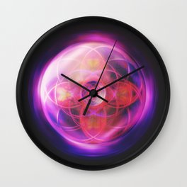Rose Crown | Crown Chakra Wall Clock