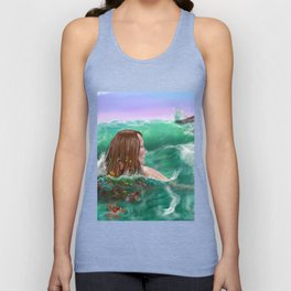 Regarding the Shore Unisex Tank Top