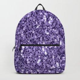 Ultra violet purple glitter sparkles Backpack