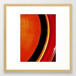 Saturn Ring Framed Art Print