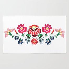 Hungarian floral motifs Rug
